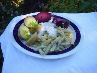 schnelles essen mit kartoffeln
