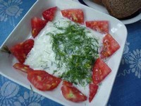 salat mit joghurt