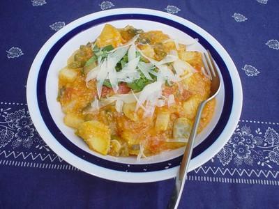 Kohlrabi Tomaten eintopf