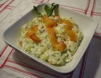 pikanter lachs-salat