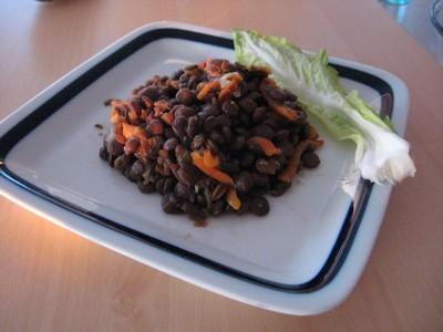 Linsen eiweißreich und vegatarisch