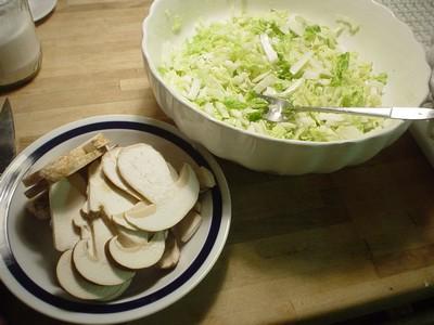 pilz salat