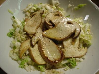 pilz salat vollwert-essen