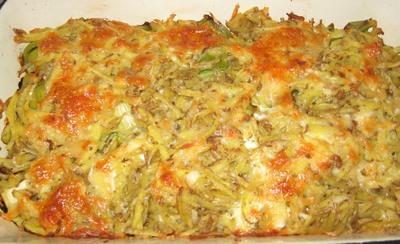 Poree-Lauch-Kartoffel Auflauf
