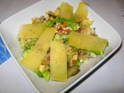 Reis-Linsen-Salat: Extravagant- sättigend - preiswert