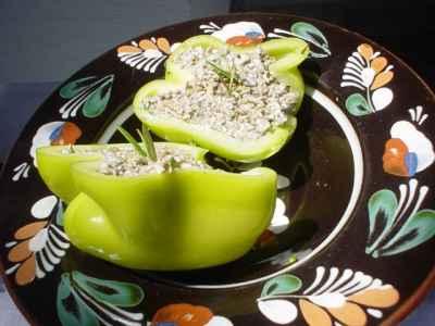 gesund schlank mit gemüse und getreide