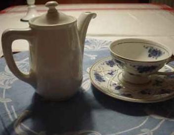 Kräuter Tee als gesundes getränk